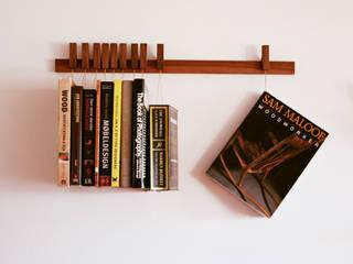 Book rack in Walnut agustav BedroomAccessories & decoration