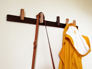 Coat rack in Fumed Oak agustav Corridor, hallway & stairsClothes hooks & stands