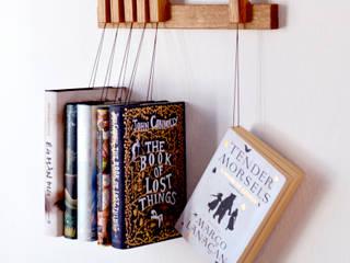 Mini book rack in Oak agustav Corridor, hallway & stairsClothes hooks & stands