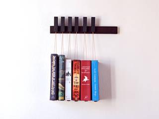Mini Book Rack in Wenge agustav Multimedia roomStorage