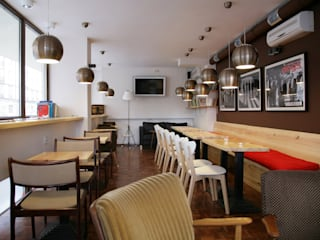 Scandinavian style bars & clubs by dziurdziaprojekt Scandinavian