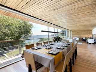 dezanove house designed by iñaki leite - de Inaki Leite Design Ltd. Moderno