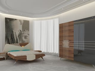 modern Bedroom by Inan AYDOGAN /IA  Interior Design Office