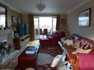 Modern Classic Sitting Room Before & After by Sarah Gordon Home