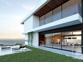 Minimalist houses by i-project Minimalist