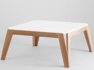 Table basse design en bois 100% made in France par Atelier Hugo Delavelle Moderne