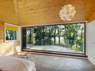 Glas-Faltwand - Schlafzimmer im Freien von Solarlux GmbH Modern