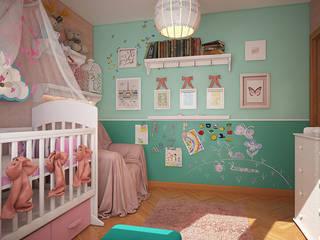 «Студия 3.14» Nursery/kid's room