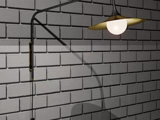 Wall Lamp S-1 long por Intuerilight Minimalista