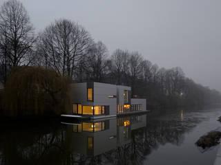 Hausboot am Eilbekkanal Hamburg Klassische Häuser von DFZ Architekten Klassisch