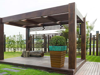 Plena Madeiras Nobres Modern Garden