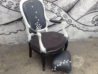 """Fauteuil """"White Lew"""":  de style  par Atelier Modeco"""