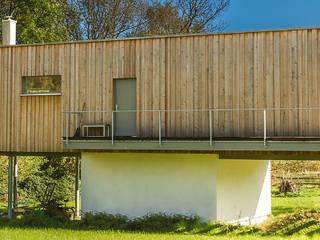 Moderne Holzhäuser : moderne Häuser von Neues Gesundes Bauen