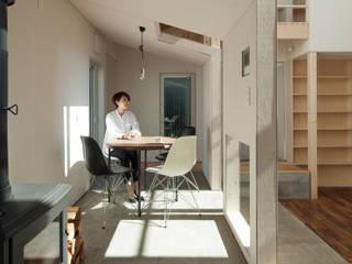 Comedores de estilo  por 一級建築士事務所 Atelier Casa