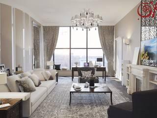 Modern Living Room by Дизайн студия Ольги Кондратовой Modern