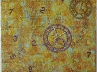 Le temps passe... par Chantal Kaeding Moderne