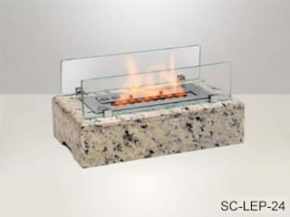 SC Lareiras Living roomFireplaces & accessories