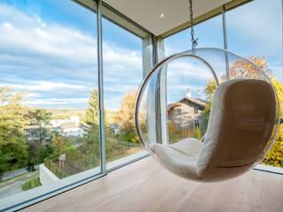 EINFAMILIENHAUS KLOSTERNEUBURG | AUT Moderne Kinderzimmer von Moser Architects Modern