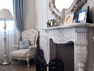 Theme of provence - Interior design of the apartment on Cote d'Azur de NG-STUDIO Interior Design Clásico