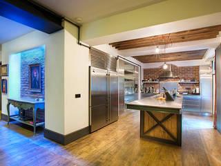 Cocinas de estilo industrial de Udesign Architecture Industrial