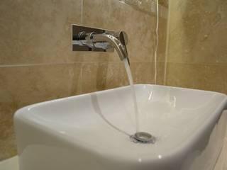 En Suite shower at Barrier Point London E16 by Design Inspired Ltd