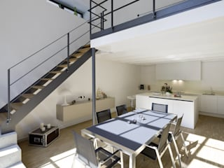 Lofts - Tuchfabrik Hauser - Architektur Industriale Esszimmer