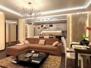 Living room by Aledoconcept