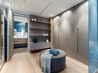 Summer residence - Interior design for the apartments on Cote d'Azur NG-STUDIO Interior Design Modern style bedroom
