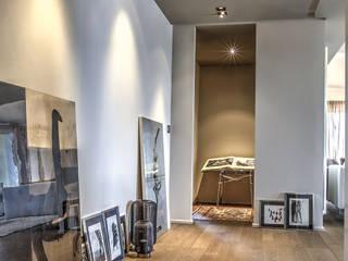 Modern Corridor, Hallway and Staircase by cristina zanni designer Modern