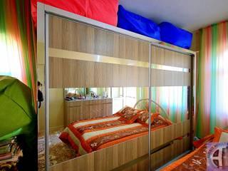 Akdeniz Dekorasyon Dormitorios de estilo moderno