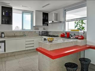 Cocinas de estilo moderno de Cassio Gontijo Arquitetura e Decoração Moderno