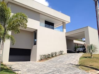 Casas de estilo  por Cassio Gontijo Arquitetura e Decoração, Moderno