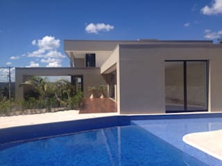 Piscinas de estilo  por Cassio Gontijo Arquitetura e Decoração, Moderno