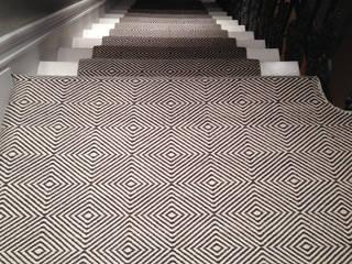 Flatweaves ~ Diamond Stair runner:   by Cavalcanti