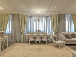Classic style dining room by Aledoconcept Classic