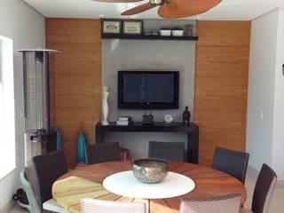 Casa 1 Salas de estar modernas por ESTÚDIO danielcruz Moderno