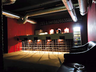 Lokalgestaltung, Club Pi Moderne Bars & Clubs von david weber design Modern
