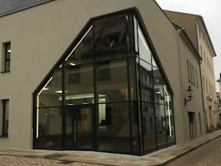 Modern offices & stores by phase 10 Planungs- und Ingenieurgesellschaft mbH Modern