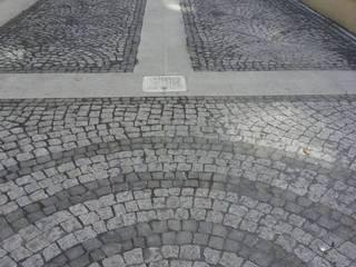 BAZALT KÜPTAŞ Giardino moderno