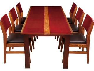옻칠6인식탁+의자6조: 문재필 옻칠갤러리의 현대 ,모던