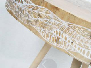 Ława No.11 Flow: styl , w kategorii  zaprojektowany przez Studio Minimal Meble