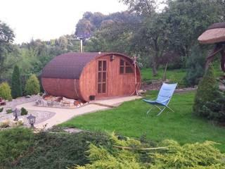 Sauna ogrodowa Klasyczny ogród od Lifepolska Iwona Olejnik Klasyczny