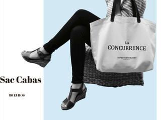 """Sac Cabas modèle """"La Concurrence"""":  de style  par Les Petites Rochelaises"""