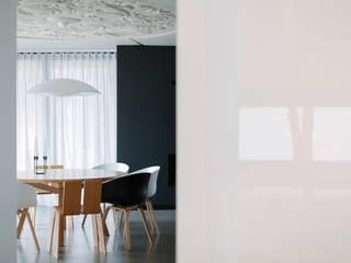 Minimalist dining room by BASK grupa projektowa Minimalist