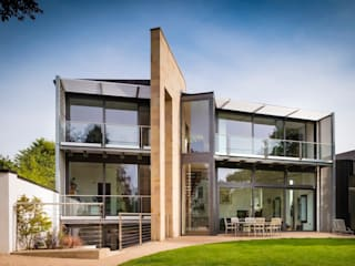 Private House North Yorkshire Modern houses by Bramhall Blenkharn Modern