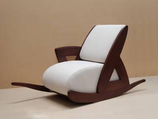 RECTO-VERSO fauteuil à bascule par Ran Seri Éclectique