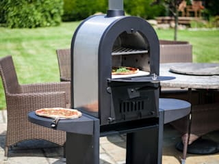 Multi-function wood fired outdoor ovens La Hacienda Garden Fire pits & barbecues