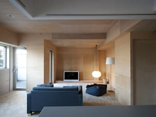 modern Living room by kurosawa kawara-ten