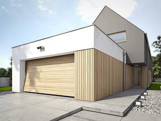 Garage & Schuppen von Konrad Idaszewski Architekt