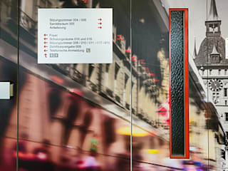 KANTON BERN Moderne Ladenflächen von RADIUS Innenarchitektur Modern